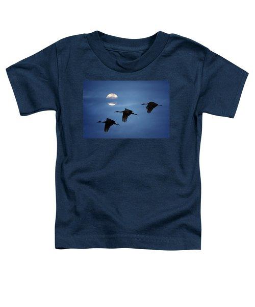 Moonlit Flight Toddler T-Shirt