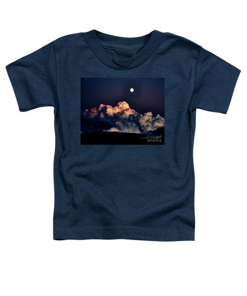 Moonrise In Taos Toddler T-Shirt