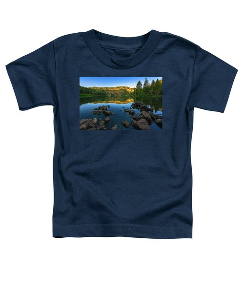 Morning Reflection On Castle Lake Toddler T-Shirt
