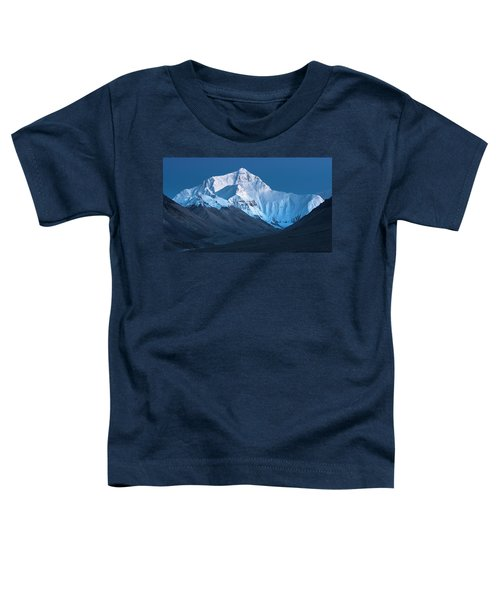 Mount Everest At Blue Hour, Rongbuk, 2007 Toddler T-Shirt