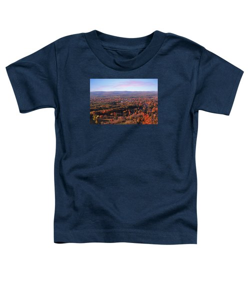 Mount Tom View, Easthampton, Ma Toddler T-Shirt