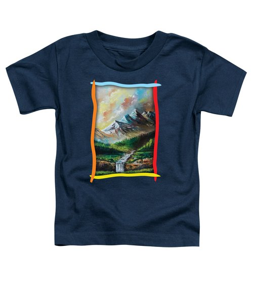 Mountains And Falls Toddler T-Shirt