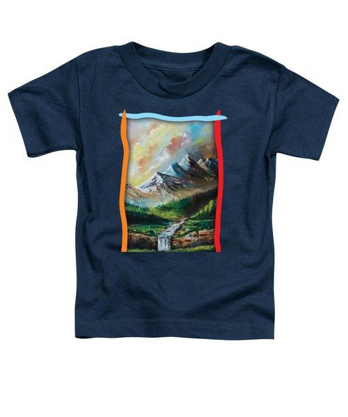 Mountains And Falls Toddler T-Shirt