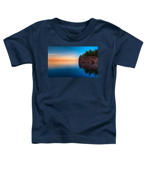 Mouth Of The Baptism River Minnesota Toddler T-Shirt