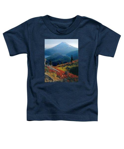 1m4903-mt. St. Helens 1975  Toddler T-Shirt