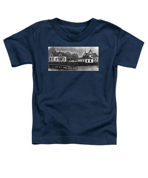 Mukilteo Lighthouse And The Dock Toddler T-Shirt