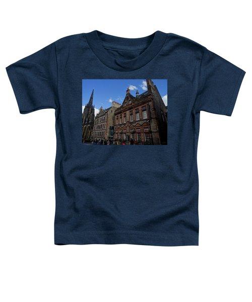 Museo Del Whisky Edimburgo Toddler T-Shirt by Eduardo Abella