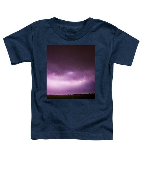 Nebraska Night Thunderstorms 013 Toddler T-Shirt