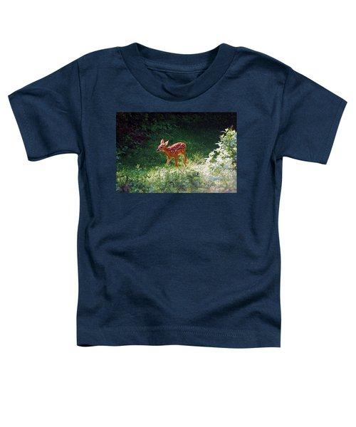 New Backyard Visitor Toddler T-Shirt
