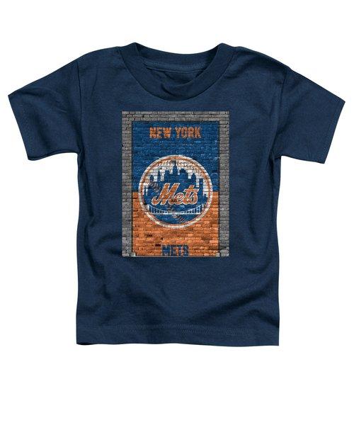New York Mets Brick Wall Toddler T-Shirt