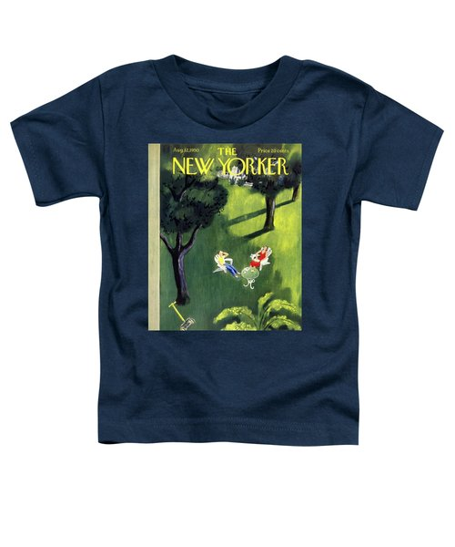 New Yorker August 12 1950 Toddler T-Shirt