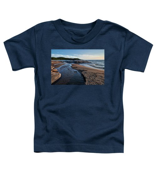 Toddler T-Shirt featuring the photograph Neys Delta by Doug Gibbons