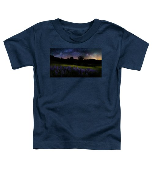 Toddler T-Shirt featuring the photograph Night Flowers by Bill Wakeley