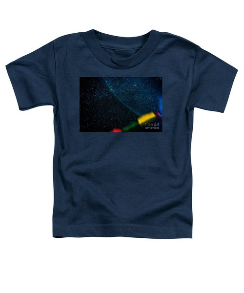Nightscape Stars In Himalayan Mountain Toddler T-Shirt