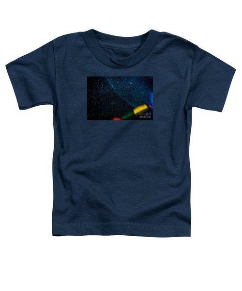 Nightscape Stars In Himalayan Mountain Toddler T-Shirt