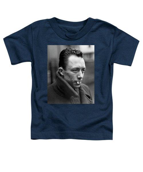 Nobel Prize Winning Writer Albert Camus Paris, France, 1962 -2015 Toddler T-Shirt