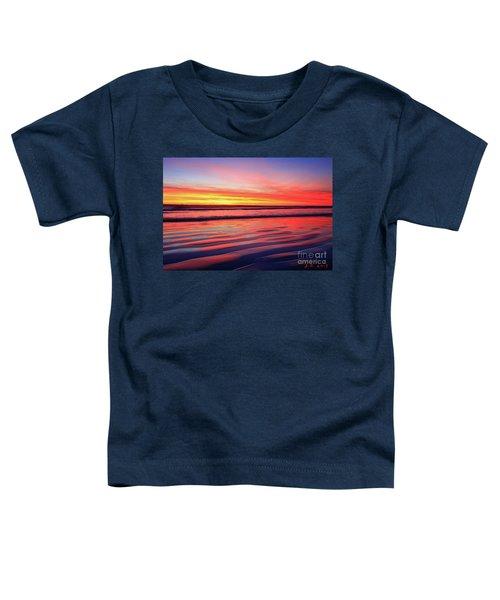 Oceanside Sand Ripples Toddler T-Shirt