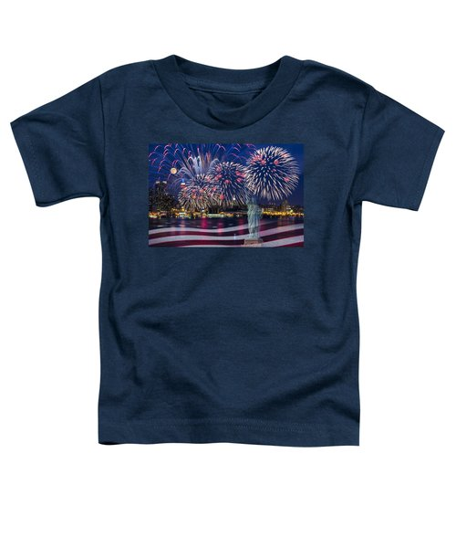 Nyc Fourth Of July Celebration Toddler T-Shirt