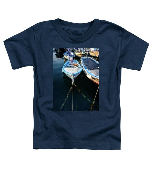 Old Fishing Boats Of The Adriatic Toddler T-Shirt