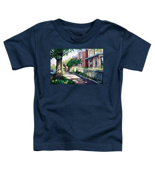 Old Iron Porch Toddler T-Shirt