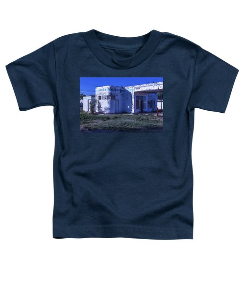 Old Run Down Gas Station Toddler T-Shirt