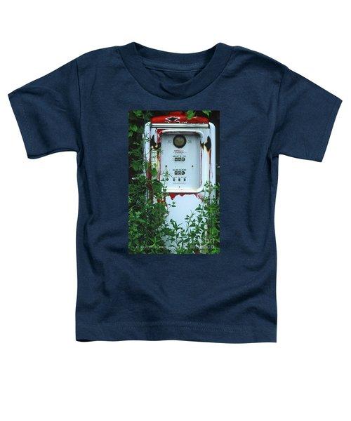 6g1 Old Tokheim Gas Pump Toddler T-Shirt