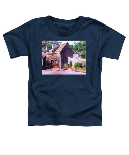 Old Wooden School House Toddler T-Shirt