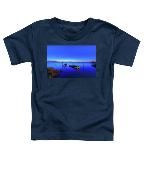 On A Mirrors Edge Toddler T-Shirt