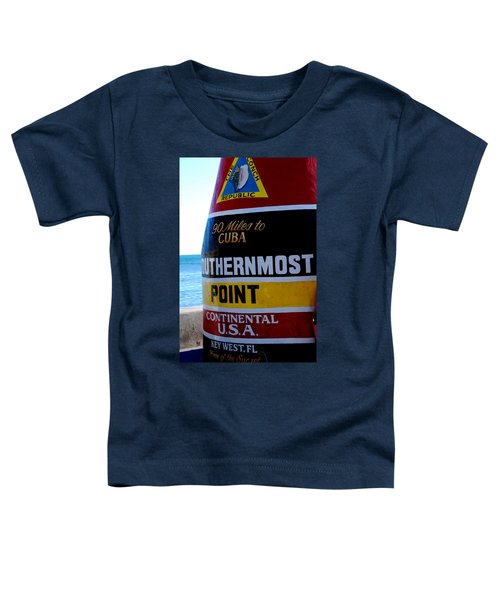Only 90 Miles To Cuba Toddler T-Shirt