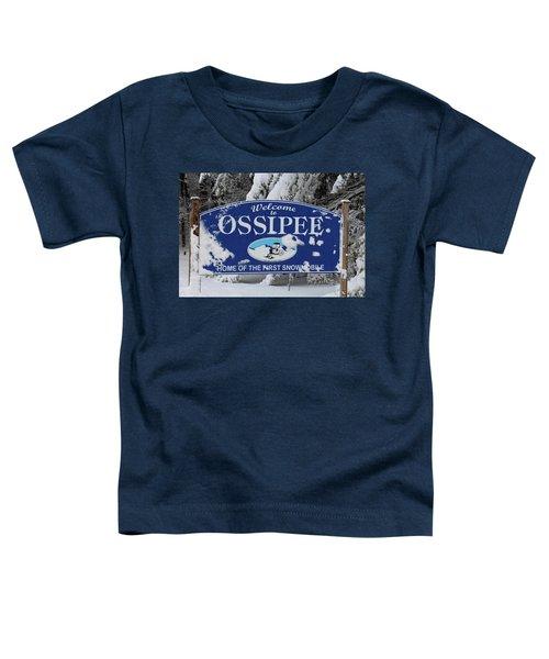 Ossipee Nh Toddler T-Shirt