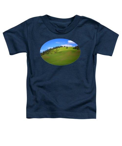 Palouse - Landscape - Transparent Toddler T-Shirt