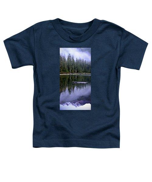 Pamelia Lake Reflection Toddler T-Shirt