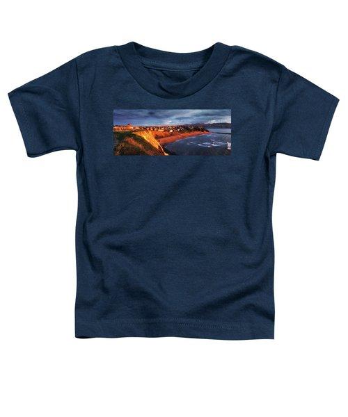 Panorama Of Aixerrota Sunset Toddler T-Shirt