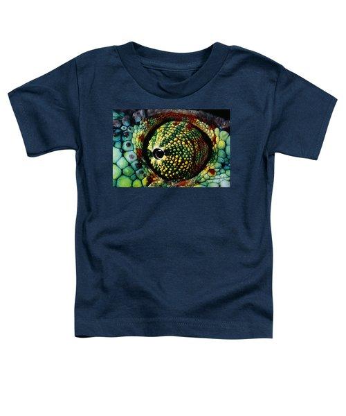 Panther Chameleon Eye Toddler T-Shirt
