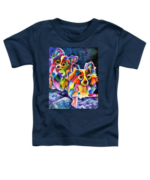 Papillion Pair Toddler T-Shirt