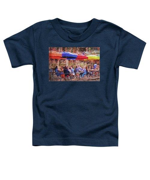 Patio At The Riverwalk Toddler T-Shirt