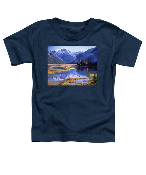 Peaceful River Valley Toddler T-Shirt
