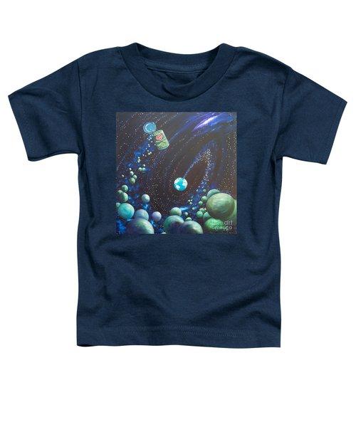 Blaa Kattproduksjoner       Peas On Earth Toddler T-Shirt