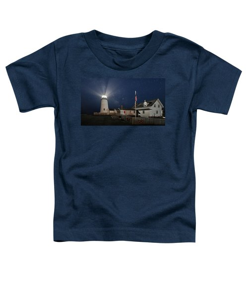 Pemaquid Point Light Flare Toddler T-Shirt