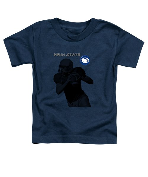 Penn State Football Toddler T-Shirt by David Dehner