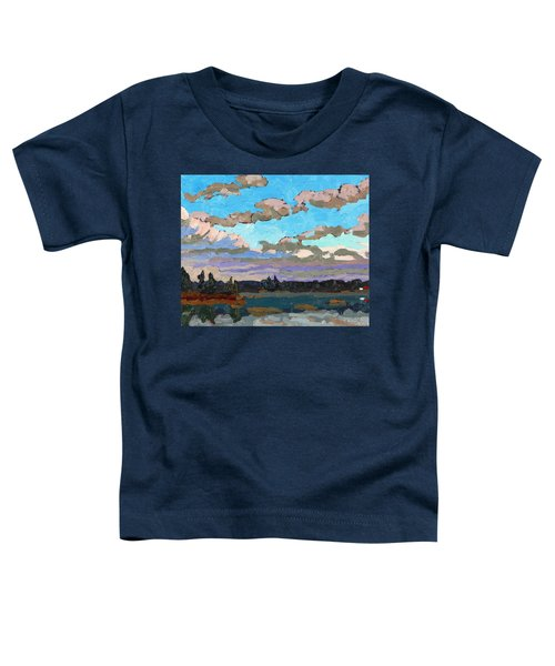Pensive Clouds Toddler T-Shirt