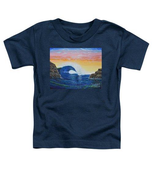 Perfect Curl Toddler T-Shirt