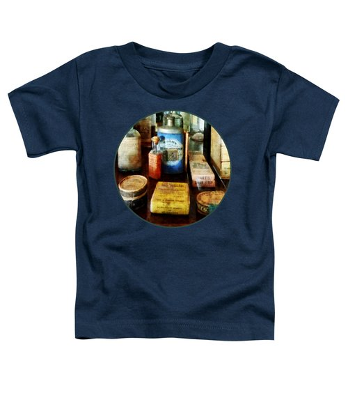 Pharmacy - Cough Remedies And Tooth Powder Toddler T-Shirt