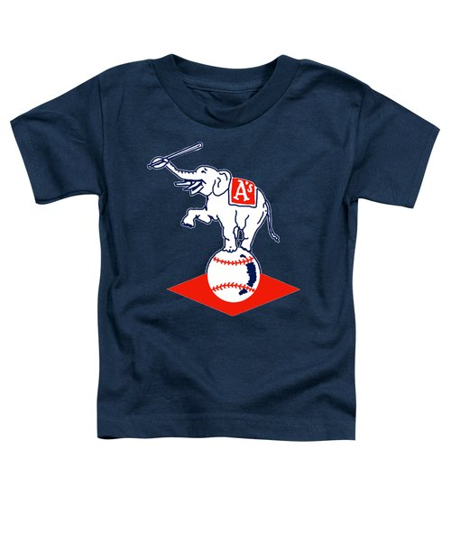 Philadelphia Athletics Retro Logo Toddler T-Shirt
