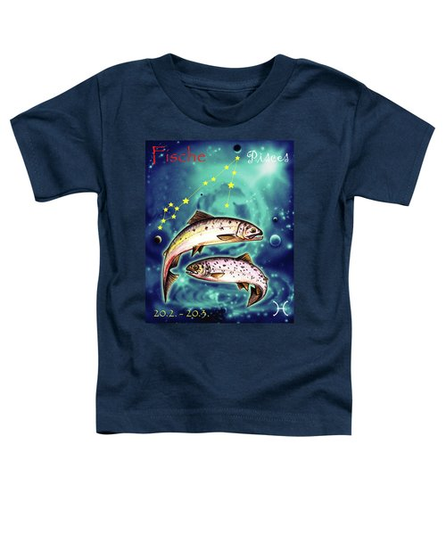 Pisces In The Sky Toddler T-Shirt