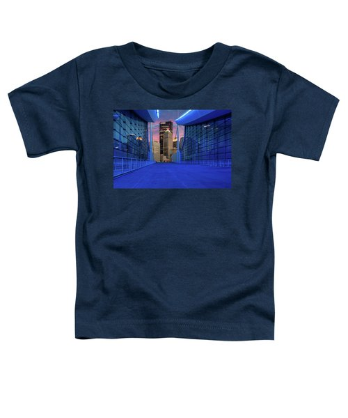 Pittsburgh In Blue  Toddler T-Shirt