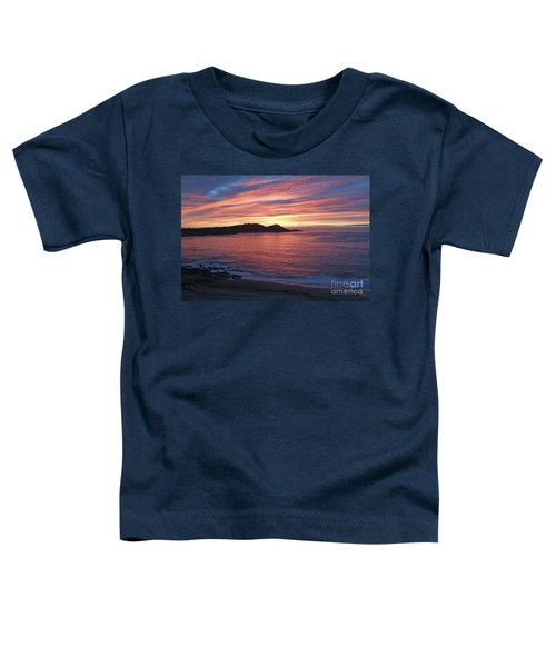 Point Lobos Red Sunset Toddler T-Shirt