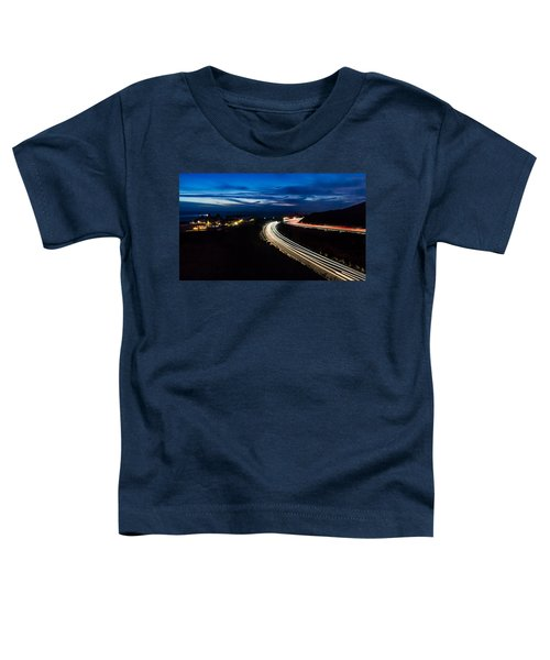 Point Vincente Light Trails Toddler T-Shirt