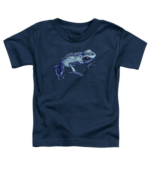 Poison Dart Frog Toddler T-Shirt by ZH Field
