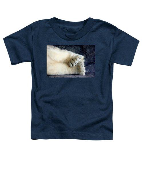Polar Bear Paws Toddler T-Shirt